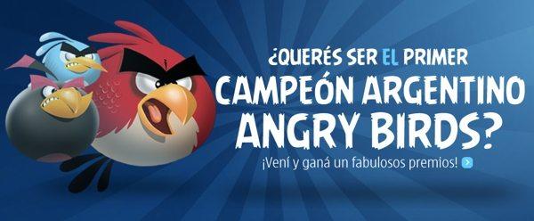 Campeonato Argentino de Angry Birds Nokia