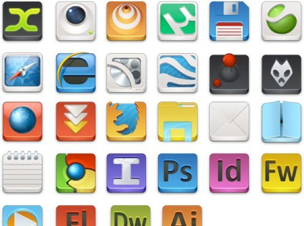 Design Showcase - colección de íconos