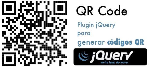 QR-Code-plugin-jquery Generar códigos QR con el plugin jQuery QR Code