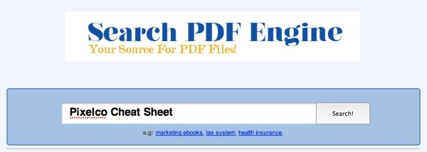 Search PDF Engine - Buscador de archivos PDF