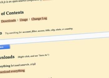 Visualsearch.js - plugin jQuery