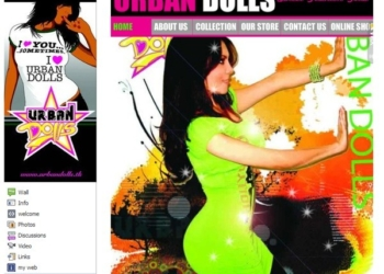 Wix desarrollo web - ecommerce para Facebook - Urban Dolls