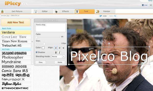 iPiccy - Editor de imágenes