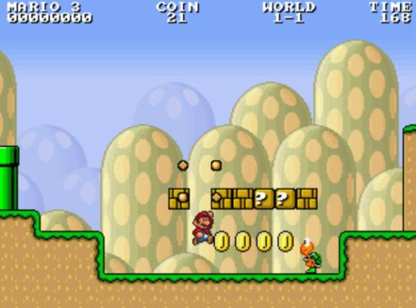 Infinite Mario Bros programado en HTML5 games descargas cool mario