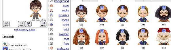 iconos y avatares de harry potter curiosidades personajes peliculas