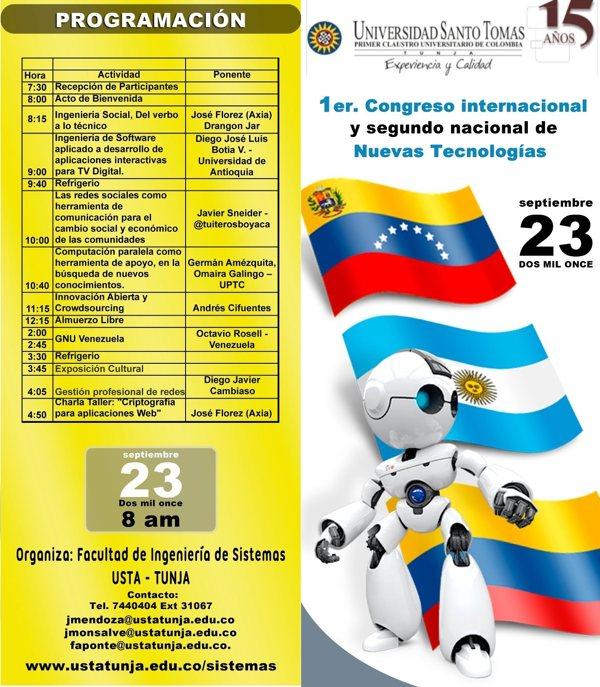 Programación Congreso Tunja