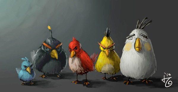 Angry Birds, arte