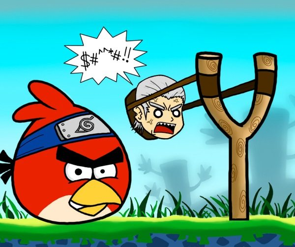 Angry Birds, game