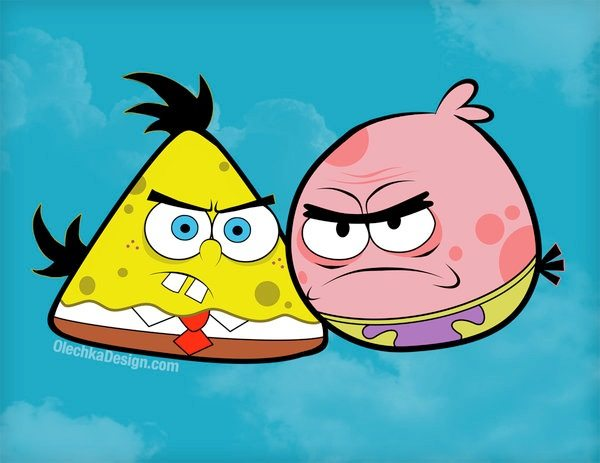 Angry Birds, personajes
