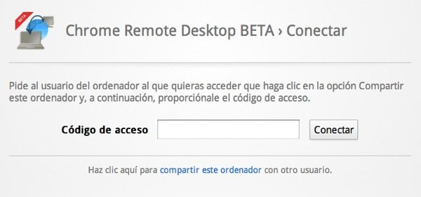 Chrome Remote Desktop - Configuración
