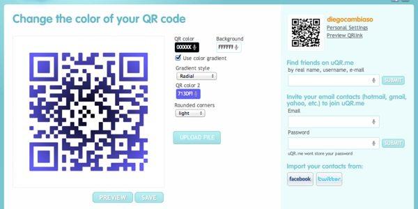 UQR.ME, editor de códigos QR