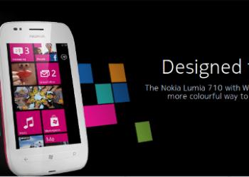 Nokia Lumia 710 presentado en el Nokia World 2011