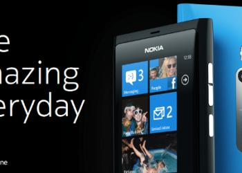 Nokia Lumia 710 - 800 Los primeros con Windows Phone