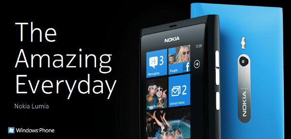 Nokia Lumia 710 - 800 Los primeros con Windows Phone