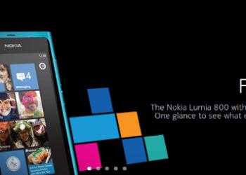Nolia Lumia 800 con WIndows Phone