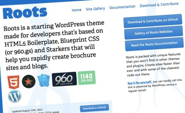 Roots, framework para WordPress para crear themes