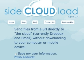 Side Cloud Load - enviar archivos a DropBox o al email