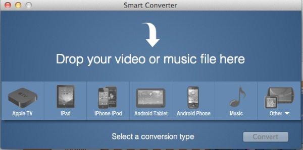 Smart Converter, aplicación gratuita para Mac para convertir todo tipo de videos