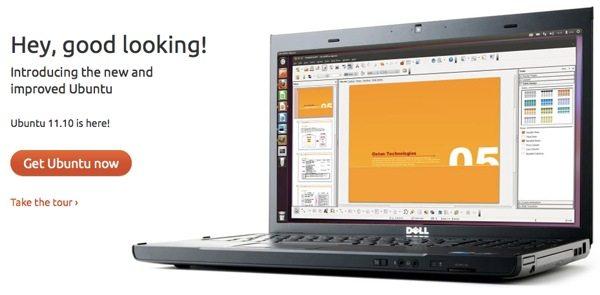 Ubuntu la nueva versión 11.10 está disponible