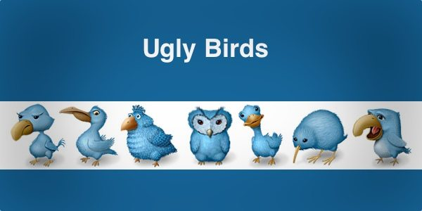 Ugly Birds - free icon set