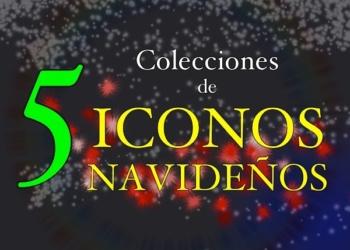 5 Colecciones de iconos navideños gratuitos