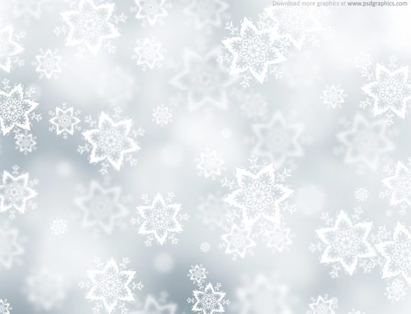 Christmas snow background PSD