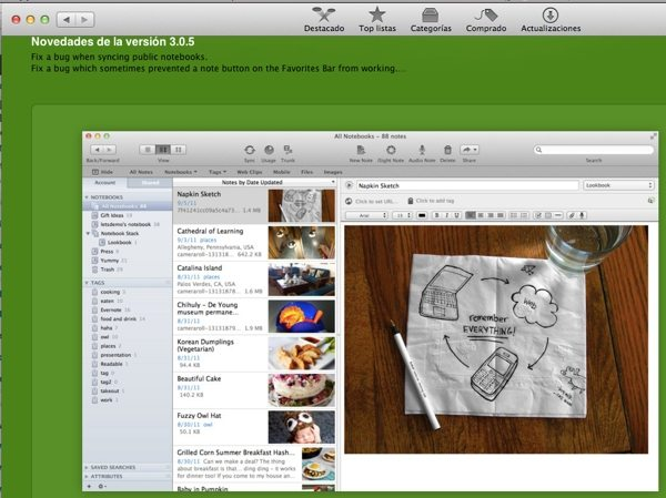 Evernote - Mac App Store
