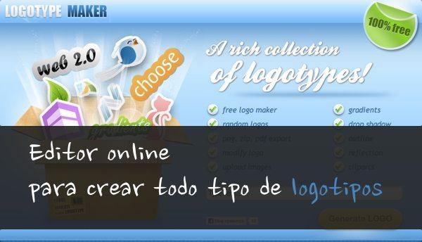 LogoType Maker editor online