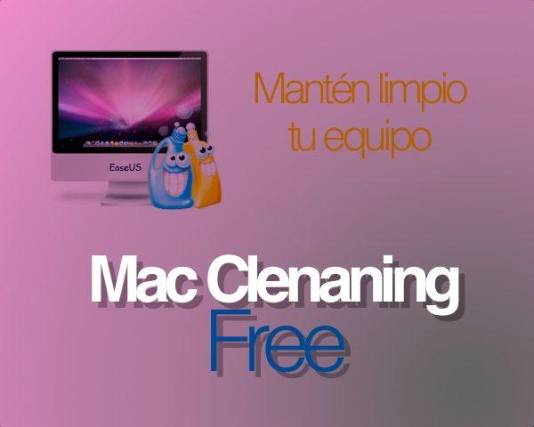 MacCleaning free - aplicación gratis para Mac