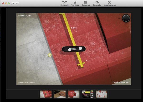TouchGring - juegos para Mac
