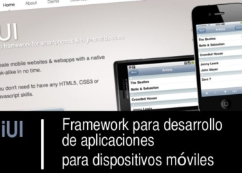 iUI framework para desarrollar aplicaciones moviles