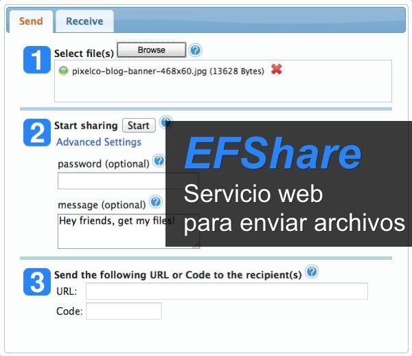 EFShare - servicio web para enviar archivos