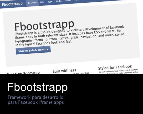 Fbootstrapp - framework para desarrollo para Facebook Iframe Apps