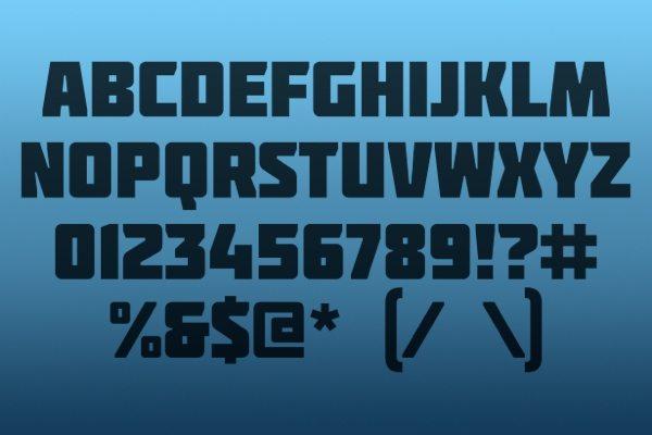 Molot free font