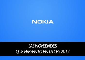 NOKIA - Las novedades que presentó en la CES 2012