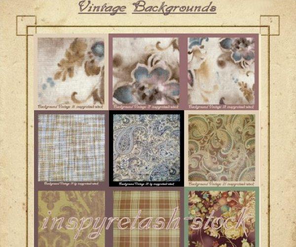 Vintage-Backgrouds-Textures 10 Packs de texturas vintage (antiguas) gratuitas