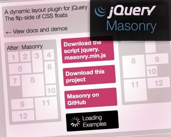 Plugin jQuery Masonry