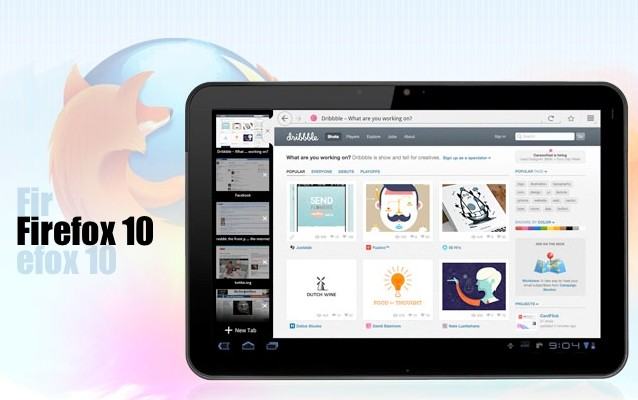 Descargar Firefox 10