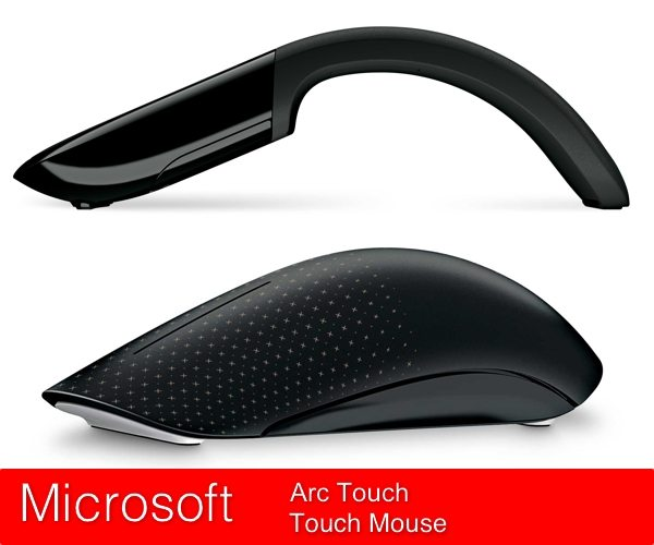 Microsoft Arct Touch y Touch Mouse