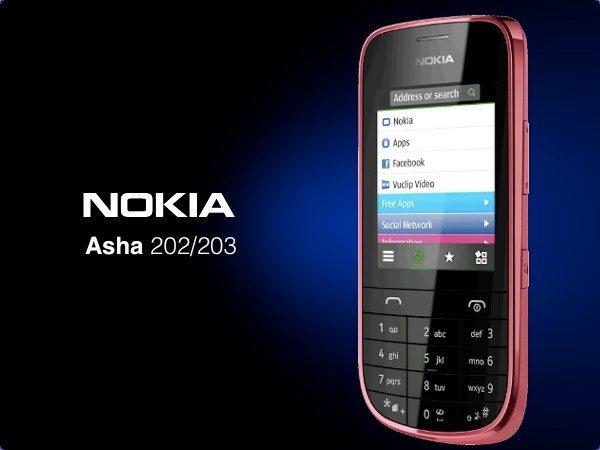 Nokia Asha 202/203