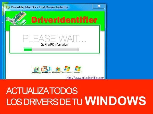 DRIVER IDENTIFIER aplicación gratuita para Windows