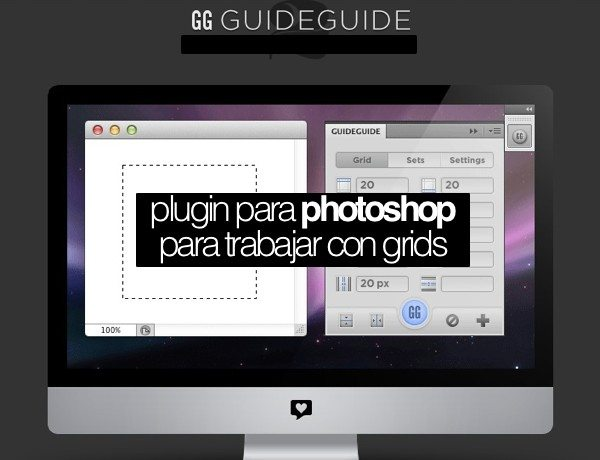 GG Guide Guide plugin para Photoshop para trabajar con grids