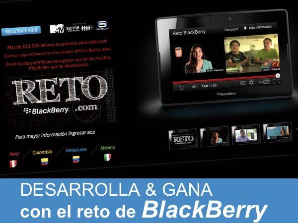 Desarrolla y gana con el reto de BlackBerry