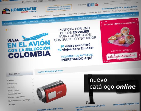 Homecenter - nuevo catálogo online