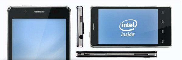 Smartphones con procesadoes Intel