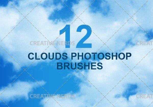 setdebrushesparaphotoshop Te mostramos un set de Brushes sobre nubes para Photoshop de alta resolución