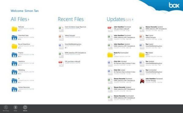 Box para Windows 8