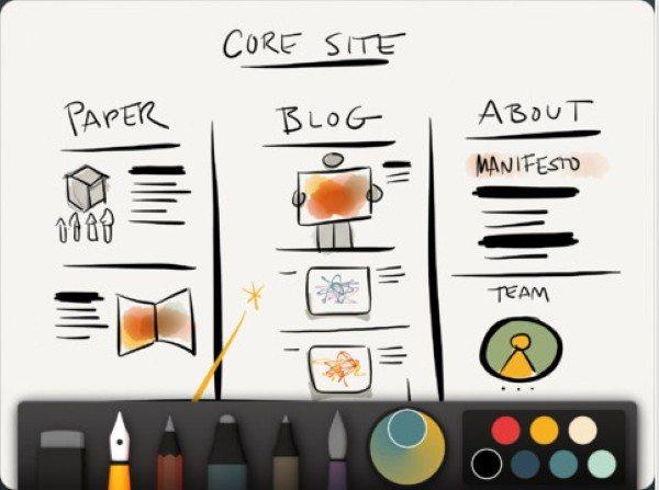 paper Paper - Aplicación gratis para tomar notas y crear bocetos desde tu iPad