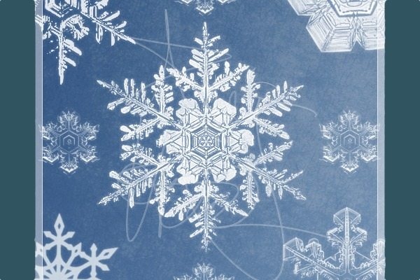 Snowflakes-Brushes-Photoshop-gratis 5 Colecciones de brushes para Photoshop para diseños navideños