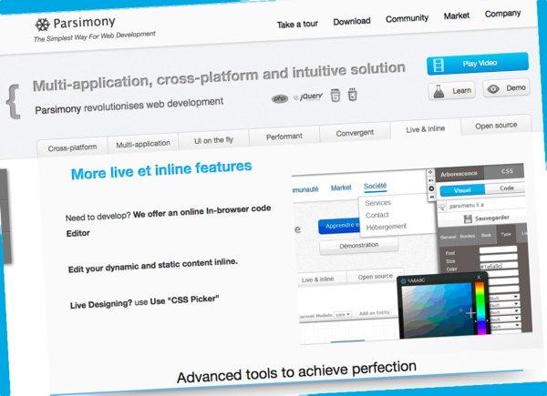 Parsimony - desarrollo web